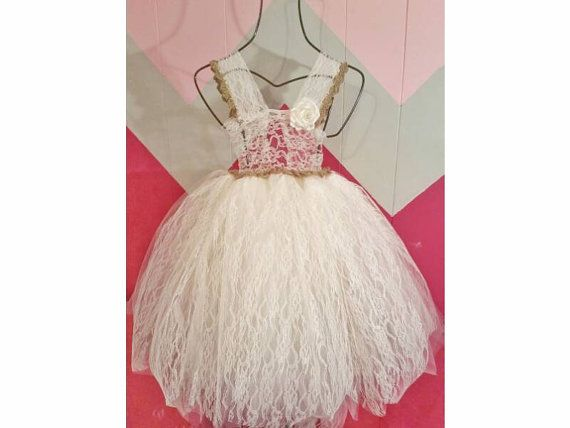 Crochet and Lace Princess Tutu Dress by SlipStitchJoin on Etsy