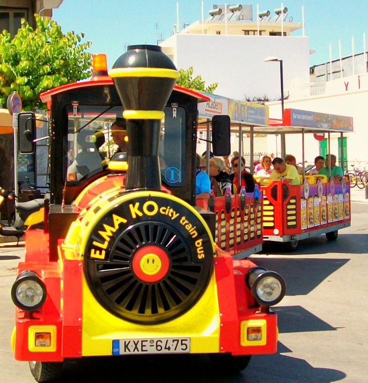 Looking for something to do with the Kids when on your #Kos2014  #summer #holiday then try the Train which is one of many things to do.