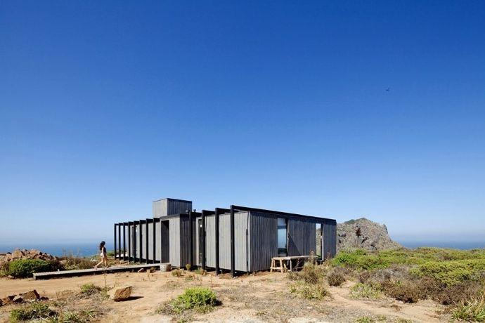 Дом для отдыха на берегу океана в Чили - Дизайн интерьеров | Идеи вашего дома | Lodgers