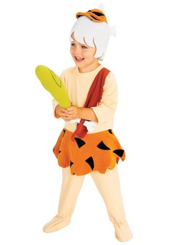 Put your little one in this toddler Bamm Bamm Rubble costume to give them the look of super-human strength. The perfect Flintstones costume for your baby.