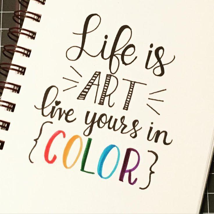 Farbe ist die Aufforderung für das heutige # quotedapril2016 von Onica Hanby – ich weiß, dass ich