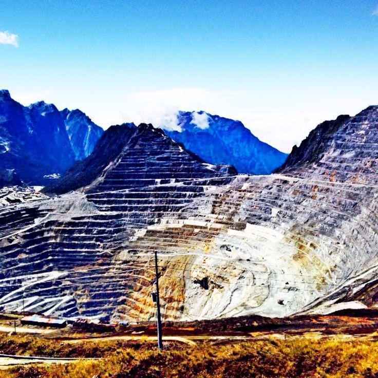 Not every mountain is beautiful--Grasberg Mine, Indonesia- b18d66f92f677c2442612d4aa59bcf6c.jpg 1,136×1,136 pixels