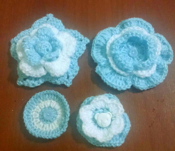 ESCARAPELAS Argentinas Crochet.