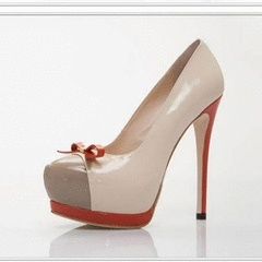 Patent Leather Bow Pump for R439.99