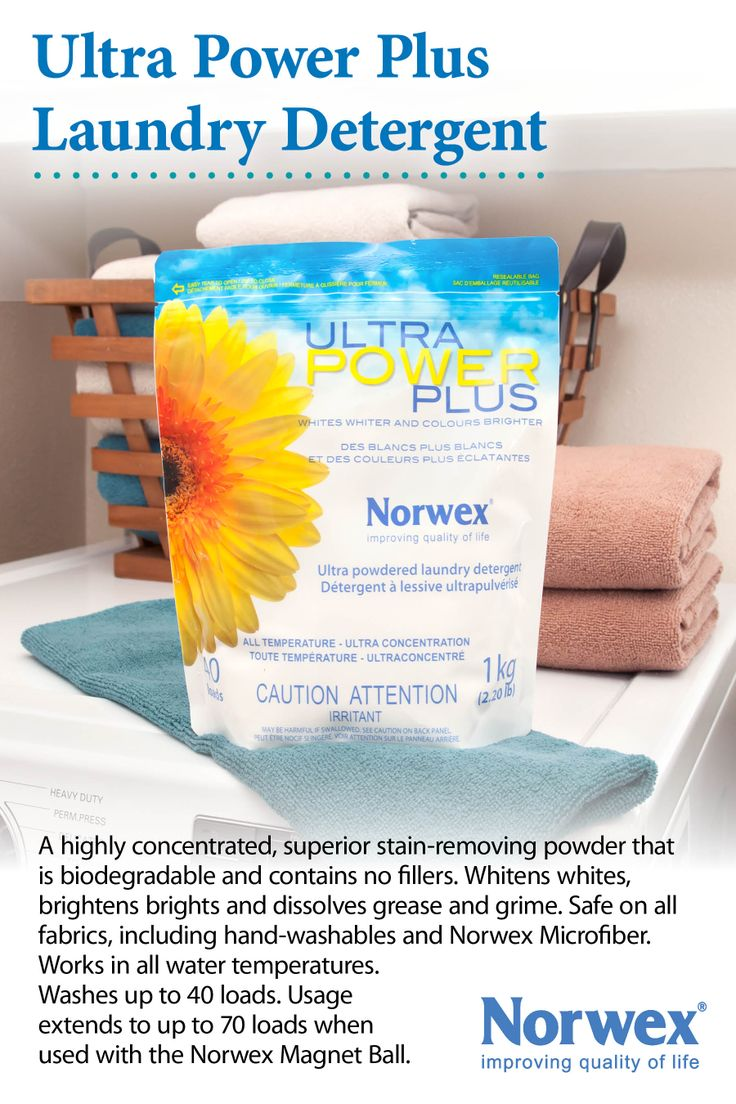 Norwex Ultra Power Plus Laundry Detergent Is filler Free