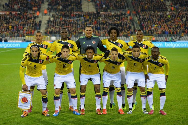 Colombia Team World cup 2014