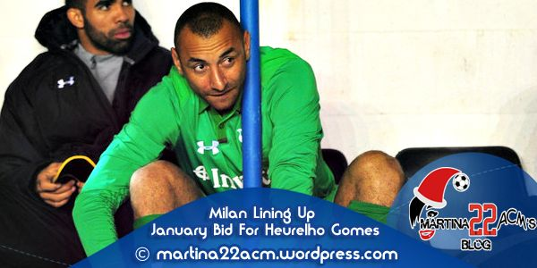 Milan Lining Up January Bid for Tottenham Goalkeeper Heurelho Gomes