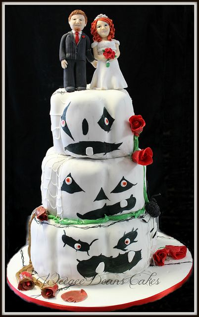 halloween wedding cake flickr photo sharing - Halloween Wedding Cakes Pictures