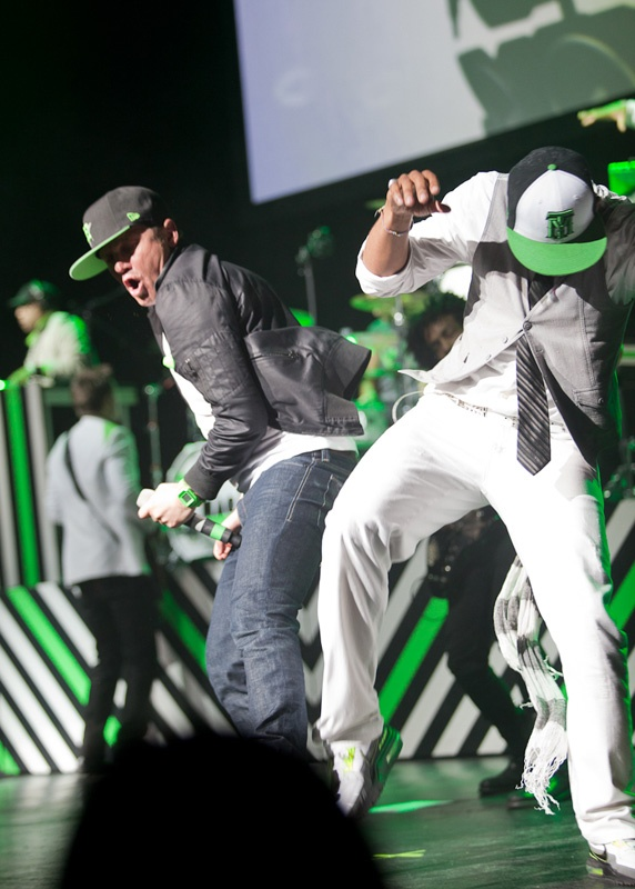TobyMac with Diverse City (back up/dance group)