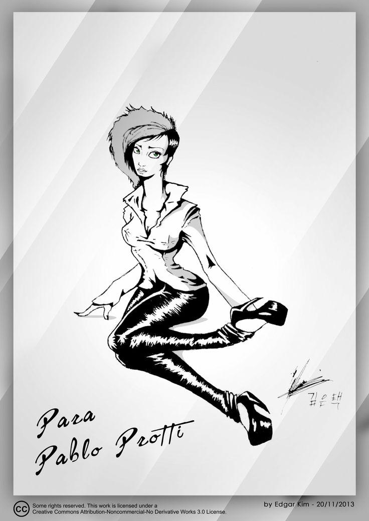 Model Punk Elegant - Cuerpo Completo by Kellthuzad.deviantart.com on @deviantART