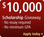 No essay, no minimum GPA college scholarship! #college #scholarship