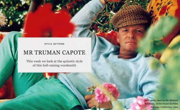 Mr. Truman Capote is Excellent.