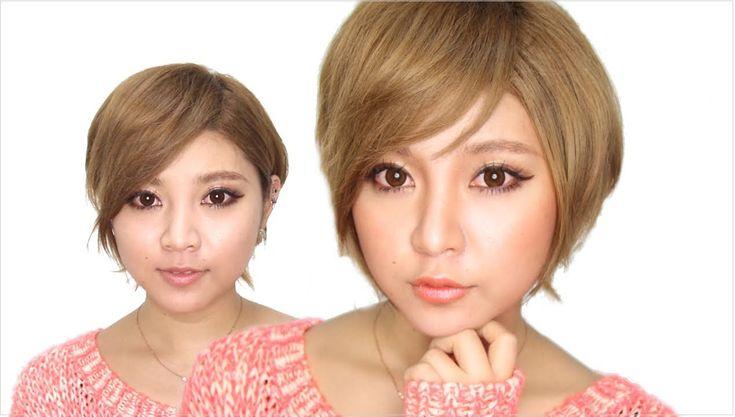 池田沙代ちゃんの ローライト&ハイライトを使いこなす! シェーディングテクニック makeup tutorial - YouTube