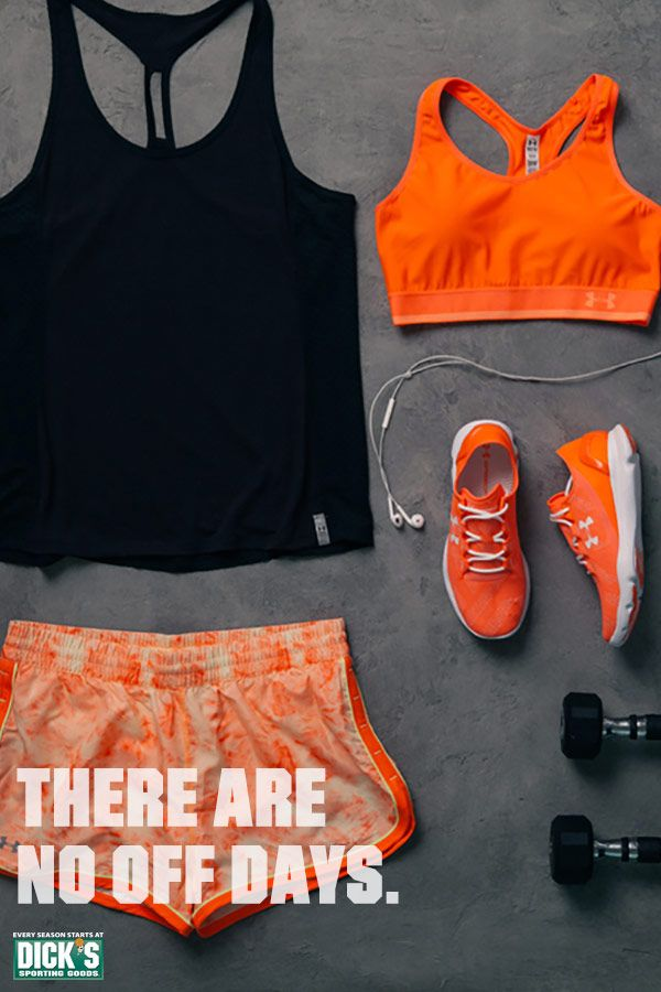 Push past your limits during your next workout with the Under Armour Fly By Mesh Tank Top, Great Escape Printed Shorts and the Speedform Apollo Vent running shoe.