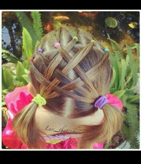 Cute little girl hair style