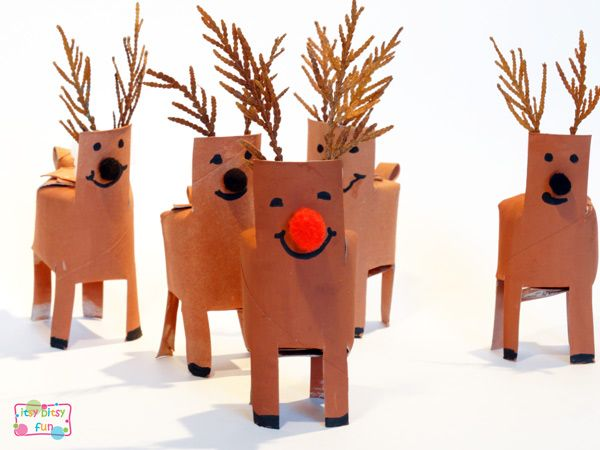 Projects on pinterest kids crafts girl scout swap and reindeer