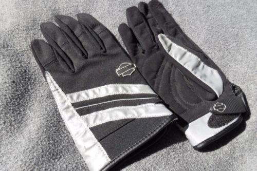 Harley Davidson Gloves Women's Illumination 360 Full Finger Riding 98319-11vw