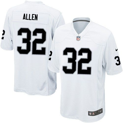 Youth Nike Oakland Raiders #32 Marcus Allen Limited White NFL Jersey Sale