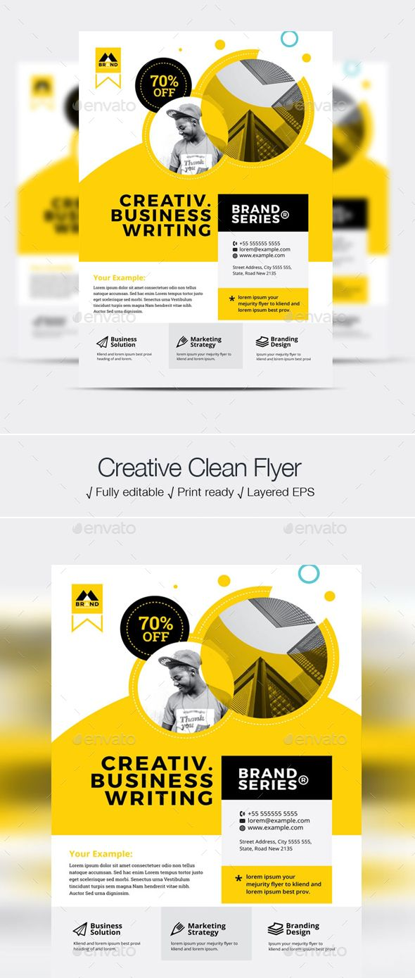 Business Flyer Business Flyer Template Design is very easy to use and change text, color, size, look and everything so please don't worry about changing. search tag: #Business #Flyer - #Corporate Flyers