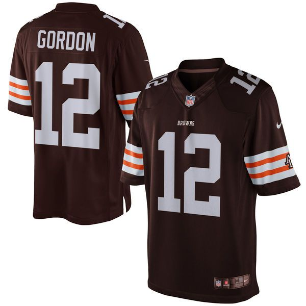 Josh Gordon Cleveland Browns Historic Logo Nike Limited Jersey - Brown - $74.99