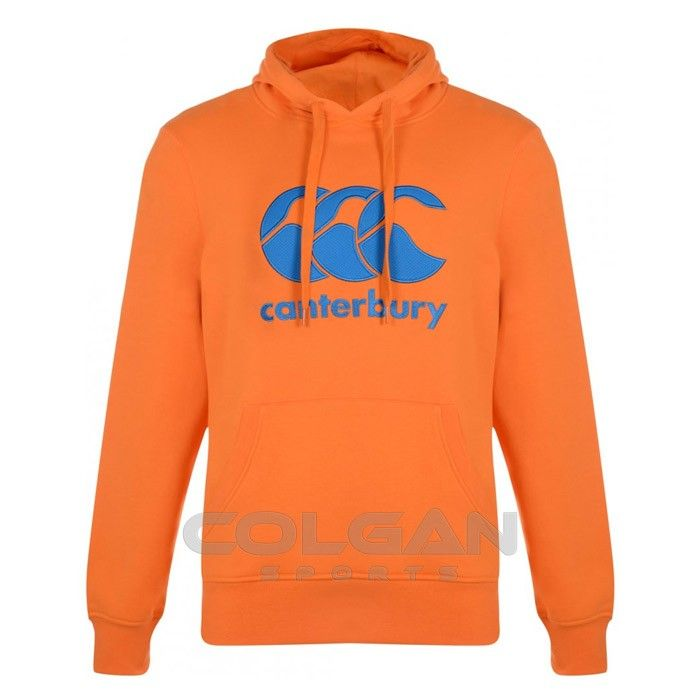 Canterbury Classic Hoody: The Canterbury Classic Hoody. It has the CCC logo embroidered on the chest and has a kangaroo style front pocket. Now available at Colgan Sports!