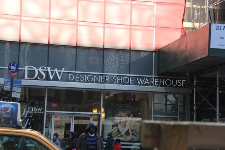 DSW outlet de sapatos - NYC