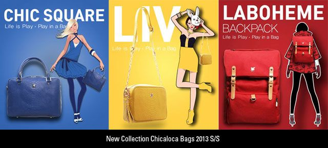 New Collection Chicaloca Bags 2013 SS