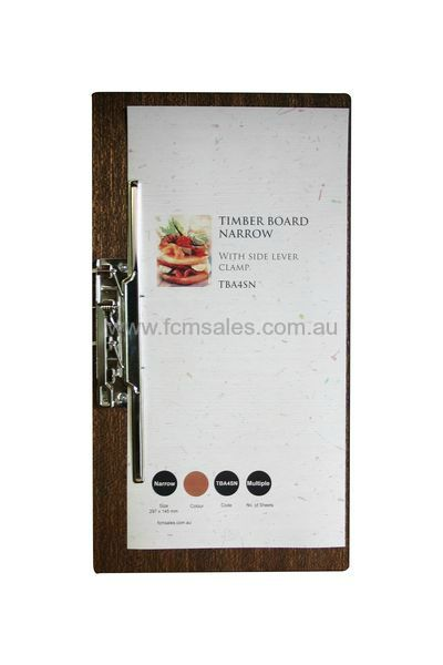 Wooden Board Narrow with Side Lever Clamp