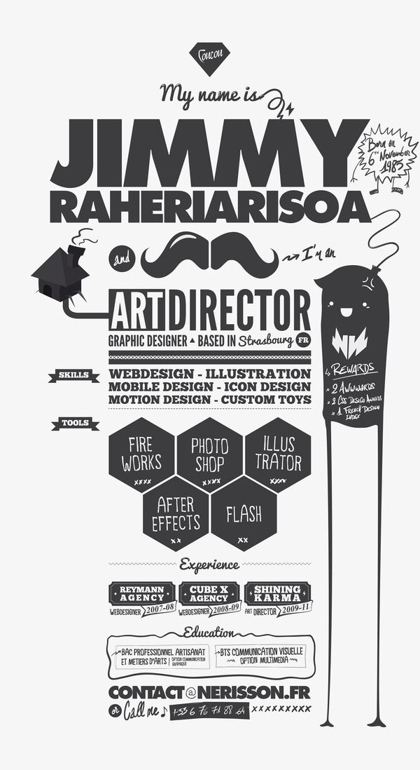 The 9 best images about CV inspiration on Pinterest UX\/UI - art director resume