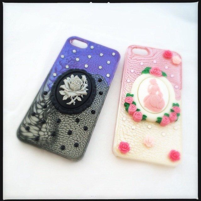 Our latest phone case offerings. Dark and mysterious or bright and romantic? There is something for everyone.
