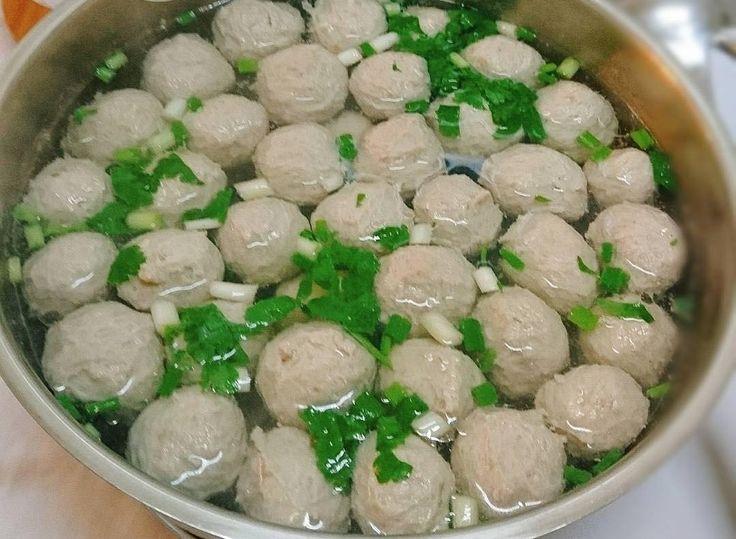 Resep Bakso Daging Gurih Kenyal