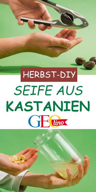 DIY: Kastanien-Seife
