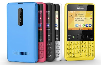 Nokia Asha 210 announced with the world's first dedicated WhatsApp button.