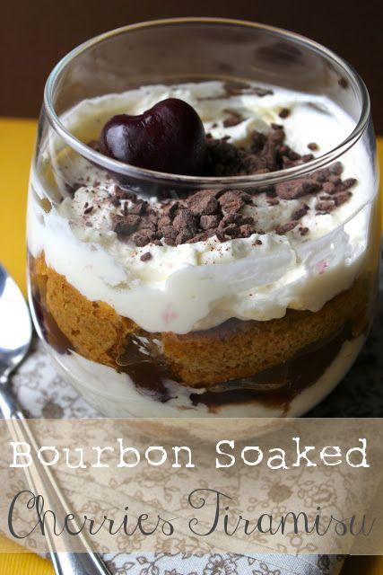 Bourbon Soaked Cherries Tiramisu Recipe - Best Food Blog Posts of 2013 ...