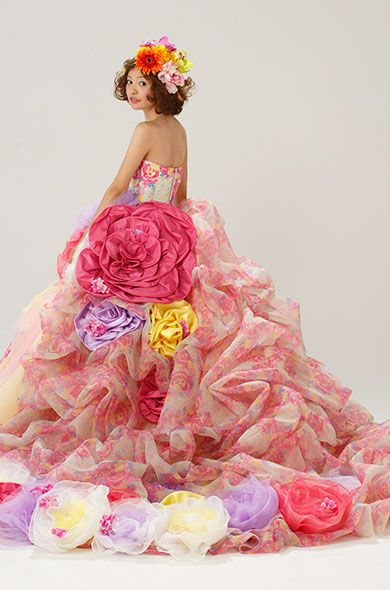 Japanese wedding dresses, WOW!