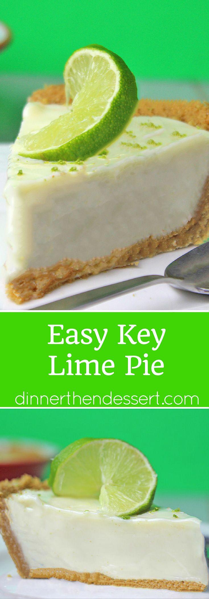Easy Key Lime Pie   Recipe   Easy keys, Summer and Key ...