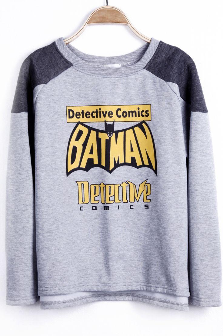 {BATMAN Detective Comics Sweatshirt} love it.