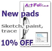ArtiFolk Pads - New, and 10% Off