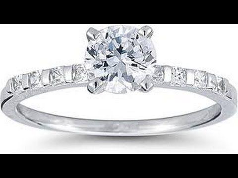 Diamond Engagement Rings - Diamond Engagement Rings Princess Cut