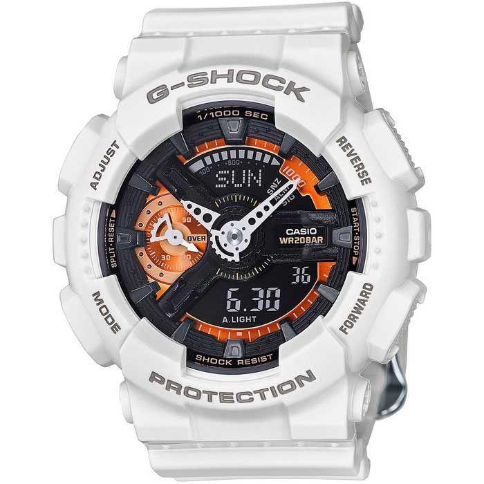 Casio G-Shock GMAS-110CW-7A2 S Series Watch - White