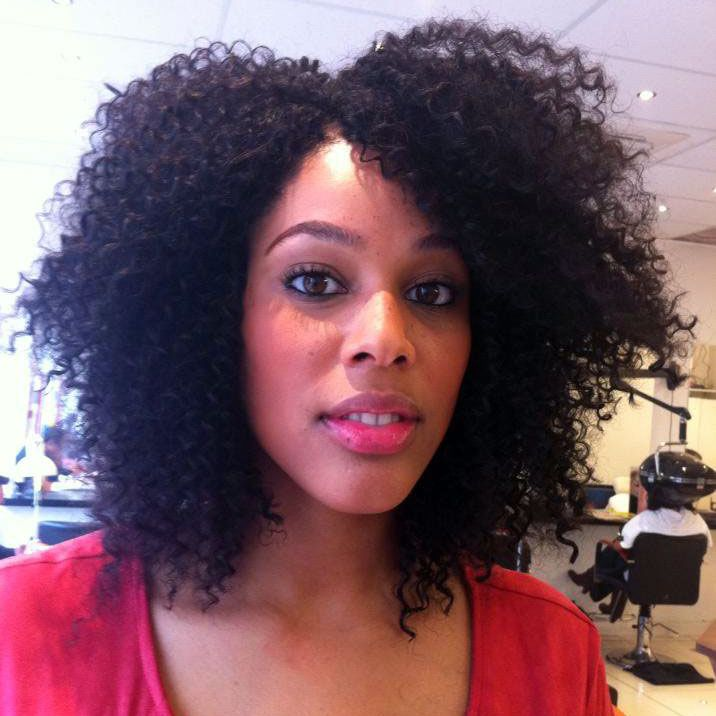 A great way to protect natural hair is with crochet braids for Crochet braids salon