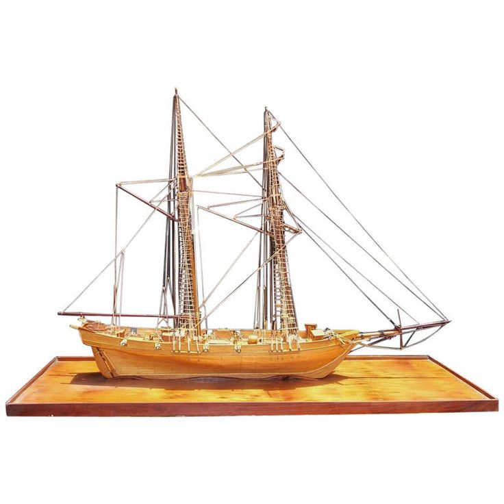 American Frigate Ship On Board. Circa 1890 | From a unique collection of antique and modern nautical objects at http://www.1stdibs.com/furniture/folk-art/nautical-objects/