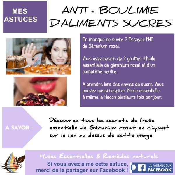 Boulimie des aliments sucrés