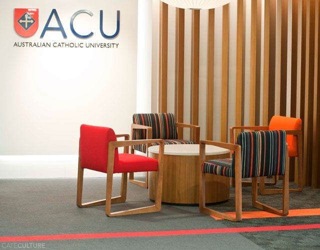 AUSTRALIAN CATHOLIC UNIVERSITY - Cafe Culture + Insitu