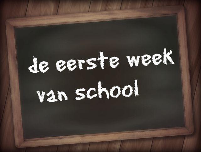 De eerste week van school @forevermamanl #forevermama #mamablogger #mamablog