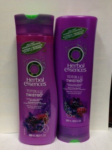 Herbal Essences Totally Twisted Curls and Waves Shampoo and Conditioner 10.1oz COMBO **Package May Vary** ** More info could be found at the image url.