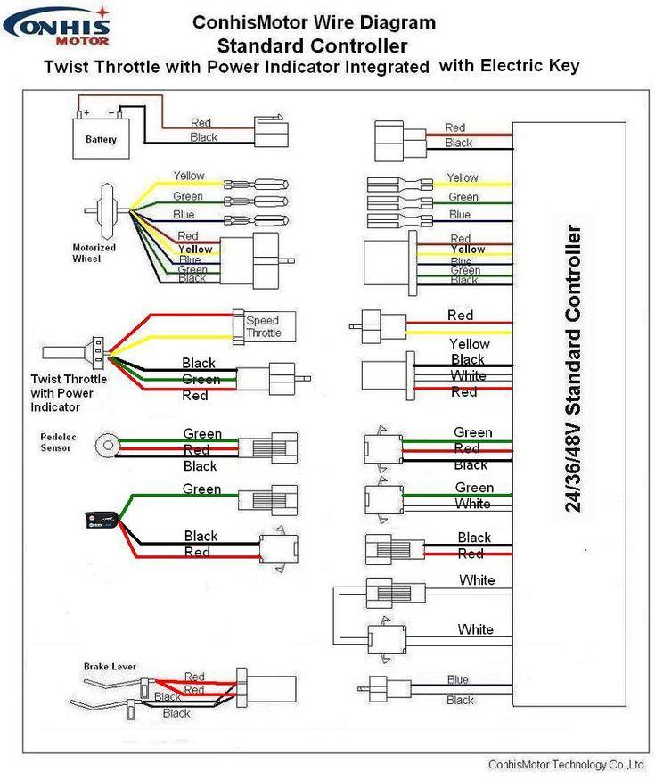 Razor Electric Scooter E300s Wiring Diagram Razor E300