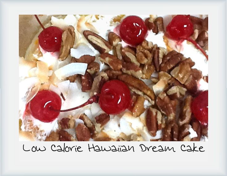 Venus Crossing with Liss: Lower Calorie Hawaiian Dream Cake~Yummy  & you don't have to feel guilty after indulging into something so incredibly delicious !!