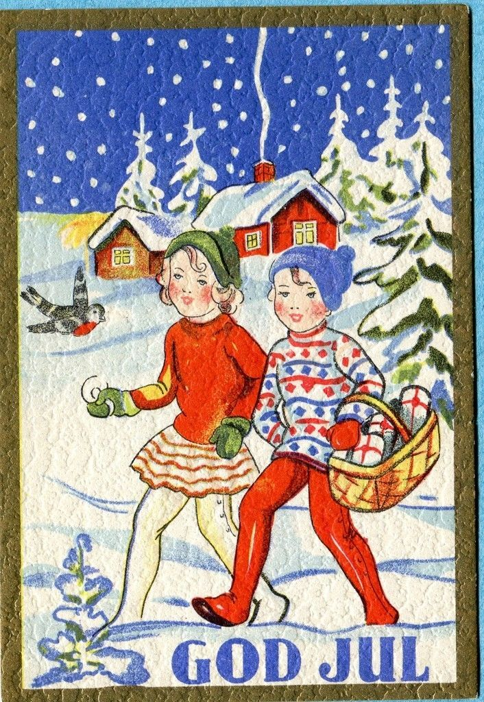 Swedish postcard