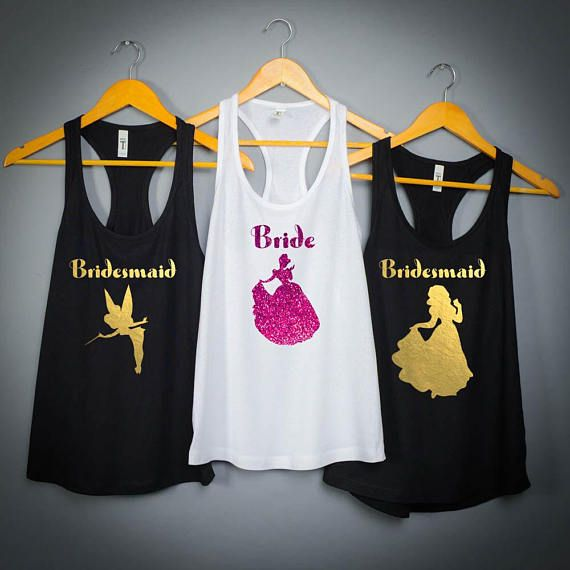 disney bachelorette party shirts, disney princess bachelorette party, disney tank top , ariel, belle, cinderella, bridesmaid gift 211